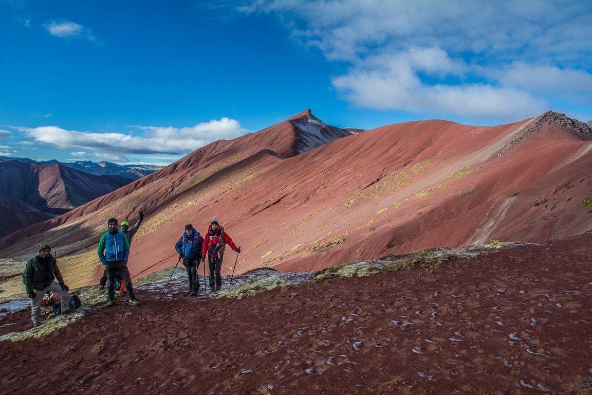 Perù-trekking-salita-durante-il-secondo-giorno