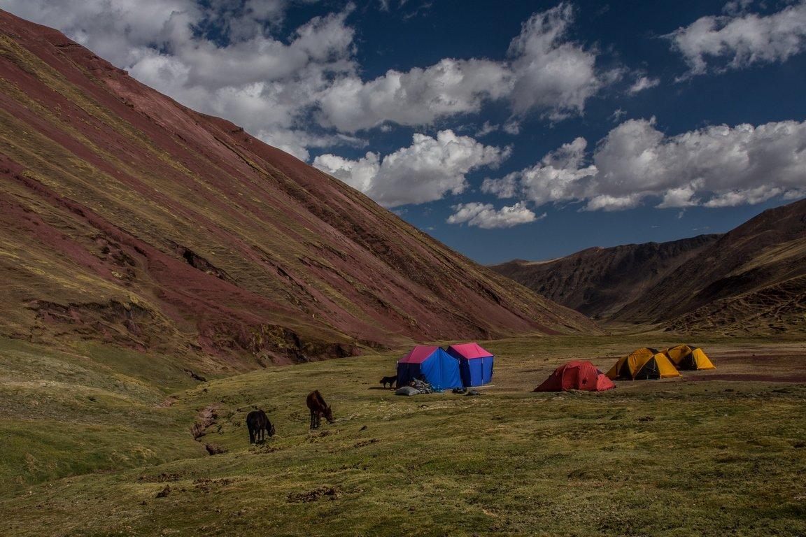 Campeggio Puqamayo, il primo di una lunga serie