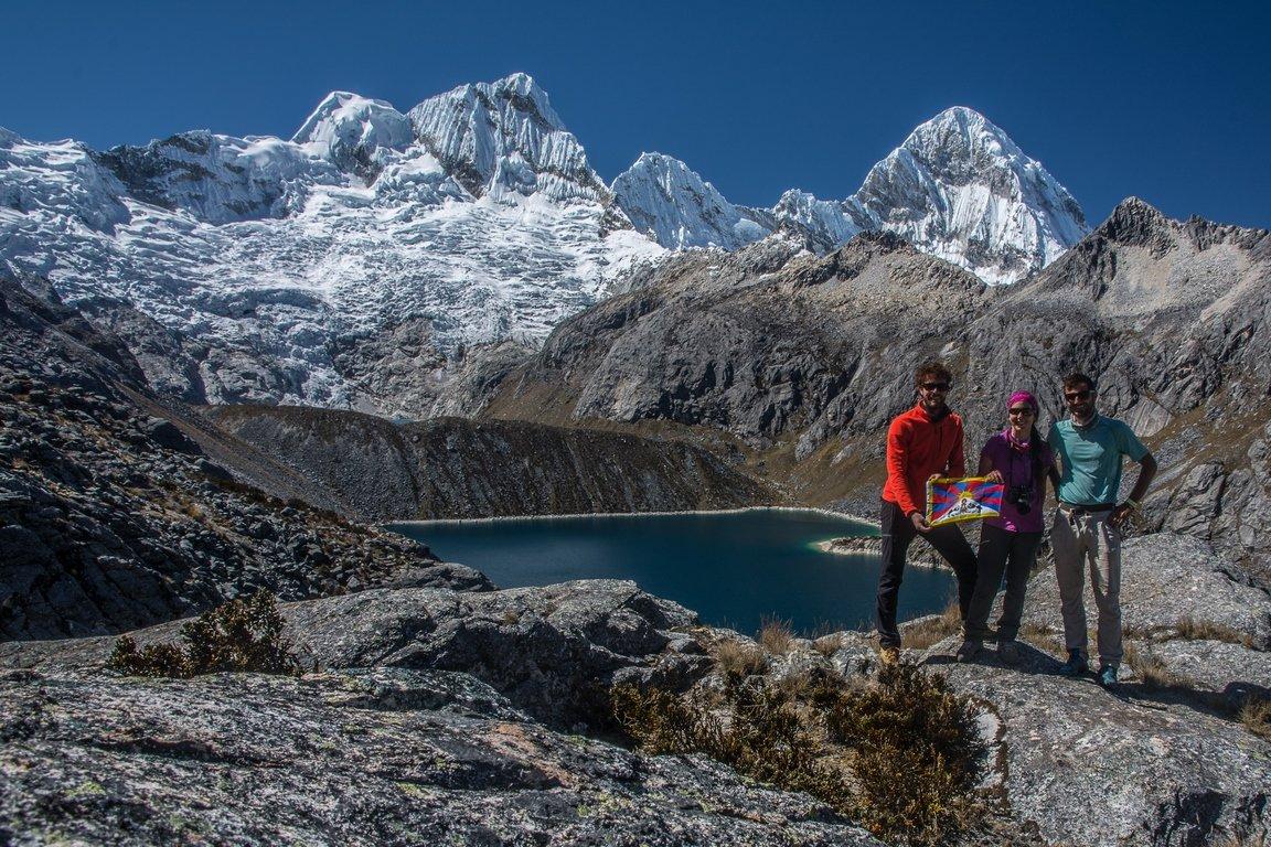 Verso il Passo Osoruri nella Cordillera Blanca