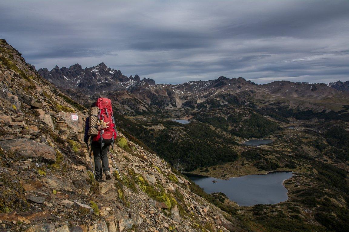Dientes-Navarino-trekking-più-australe