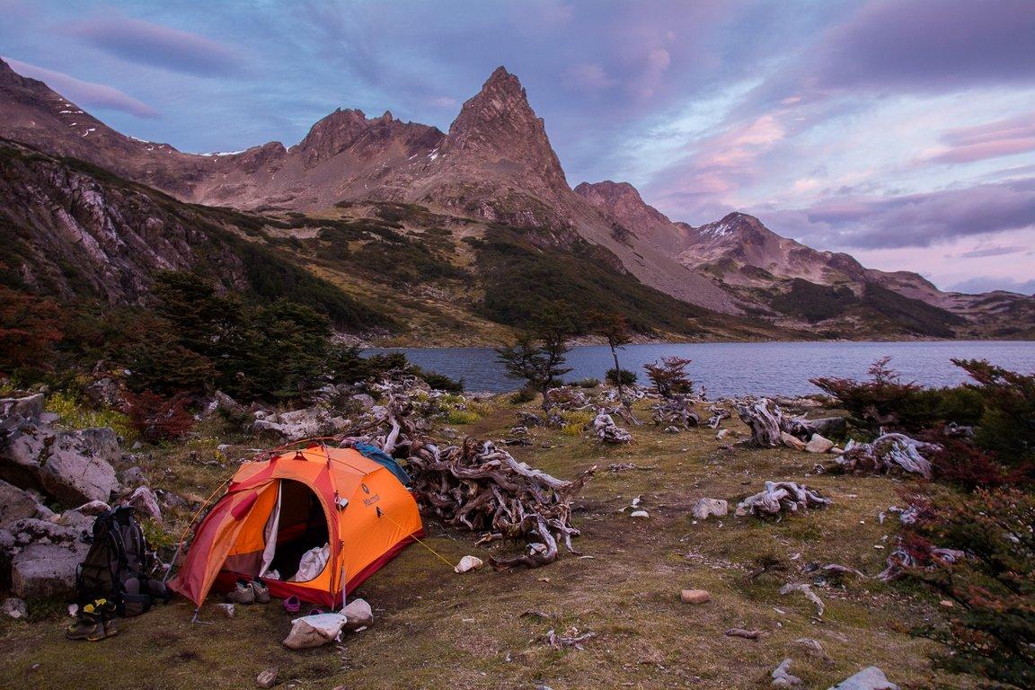 trekking-navarino-tenda