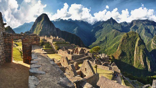 Entrata-sito-archeologico-Machu-Picchu-Perù