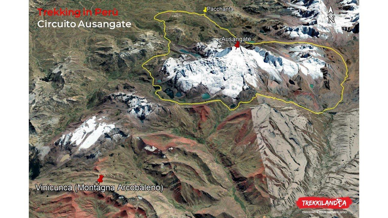 mappa-trekking-circuito-ausangate-ande-peruviane