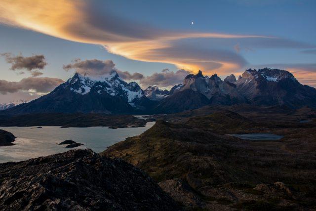 tramonto-patagonia-cilena-torres-del-paine